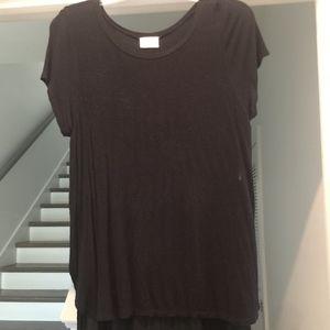 Tops - Black Flowy Shirt